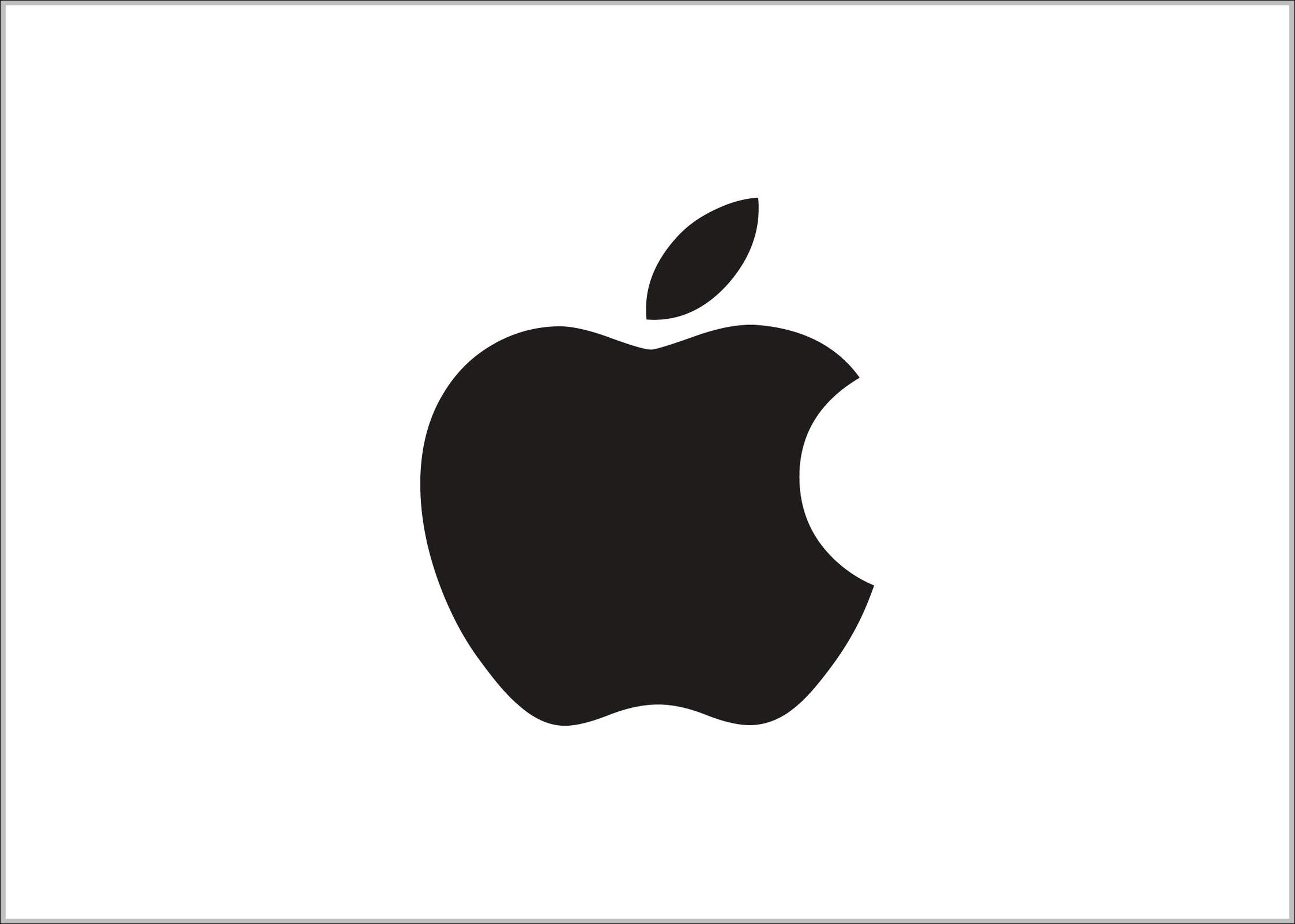 apple logo black | logo sign - logos, signs, symbols, trademarks of