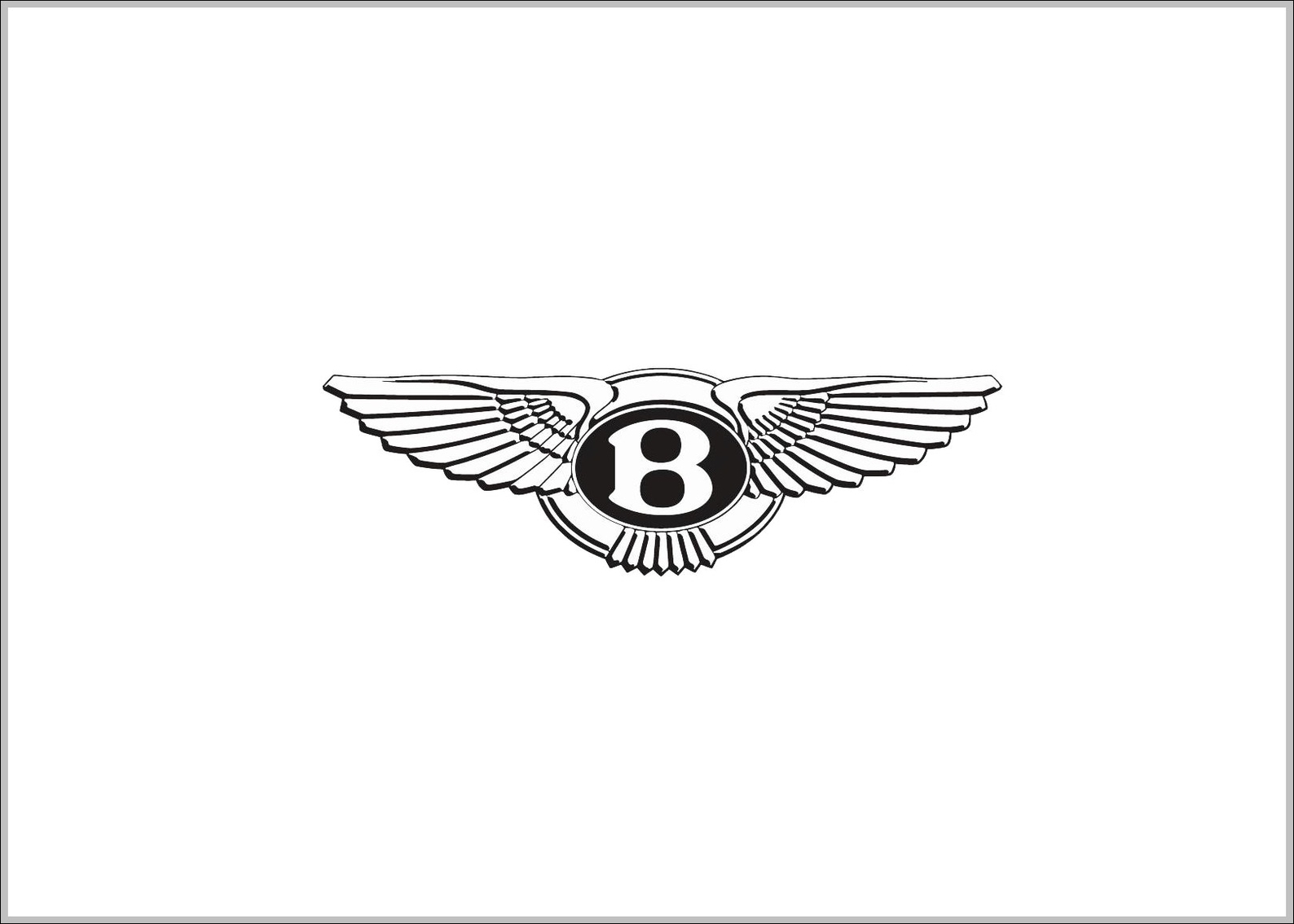 Bentley Wings Symbol Logo Sign Logos Signs Symbols - Car sign with wings