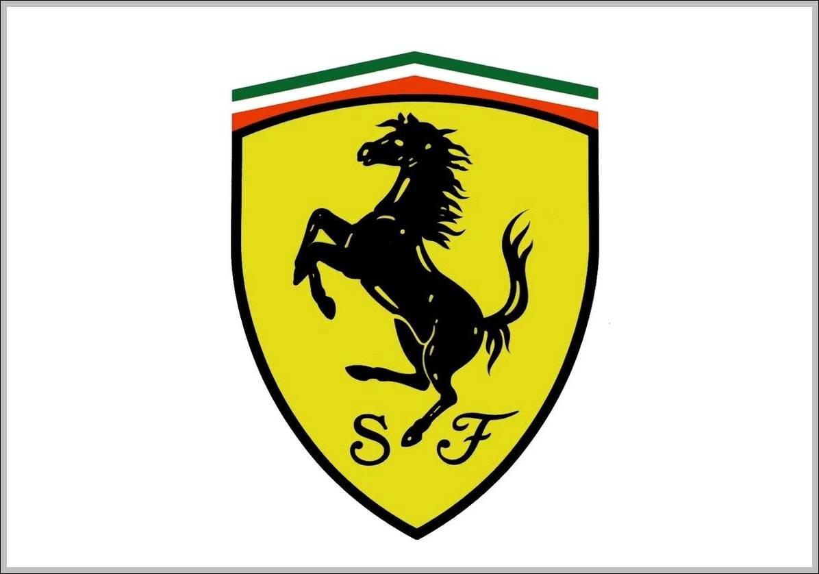 ferrari logo sign logos signs symbols trademarks of companies