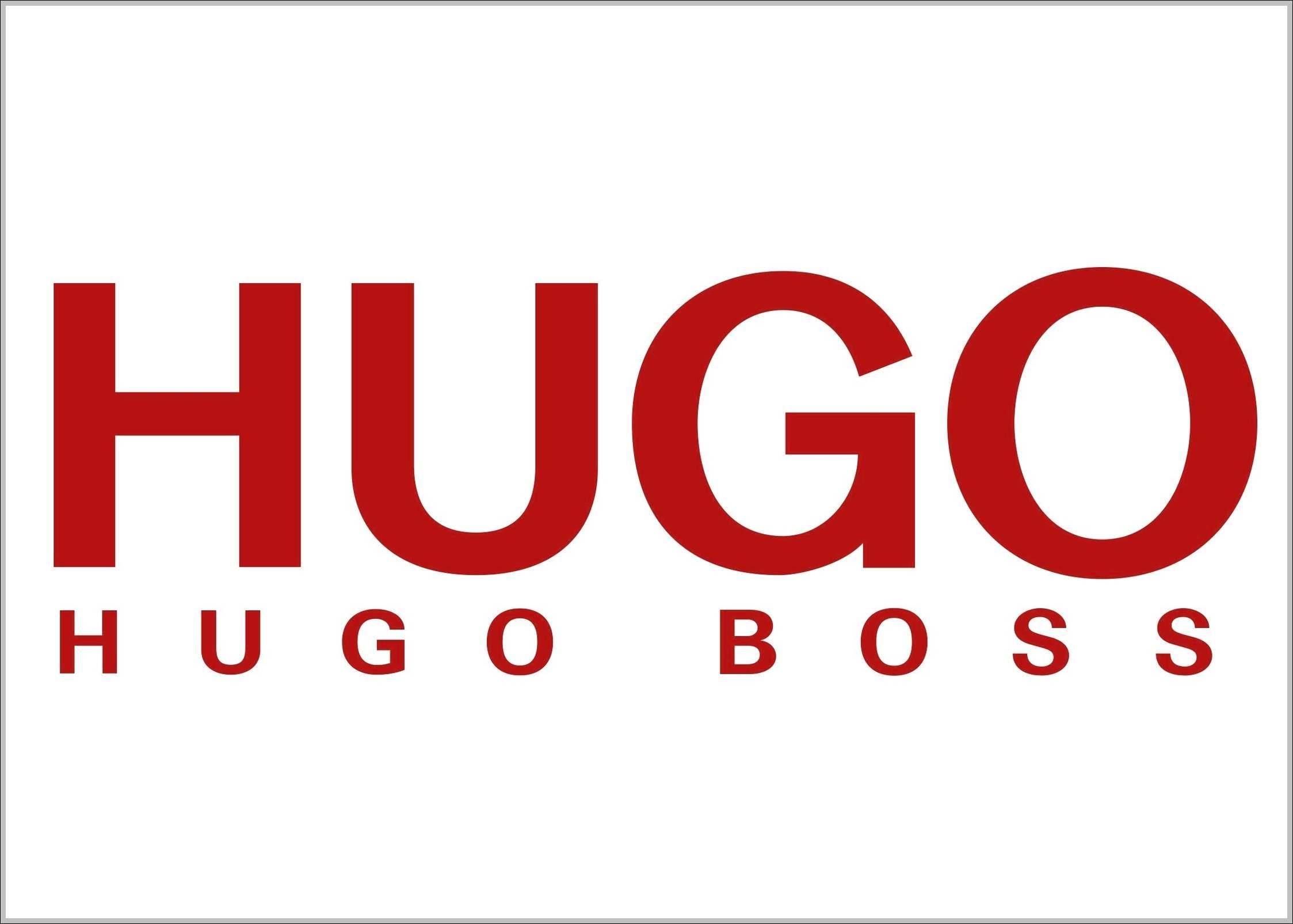 hugo boss logo hugo brand logo sign logos signs symbols trademarks of companies and brands. Black Bedroom Furniture Sets. Home Design Ideas