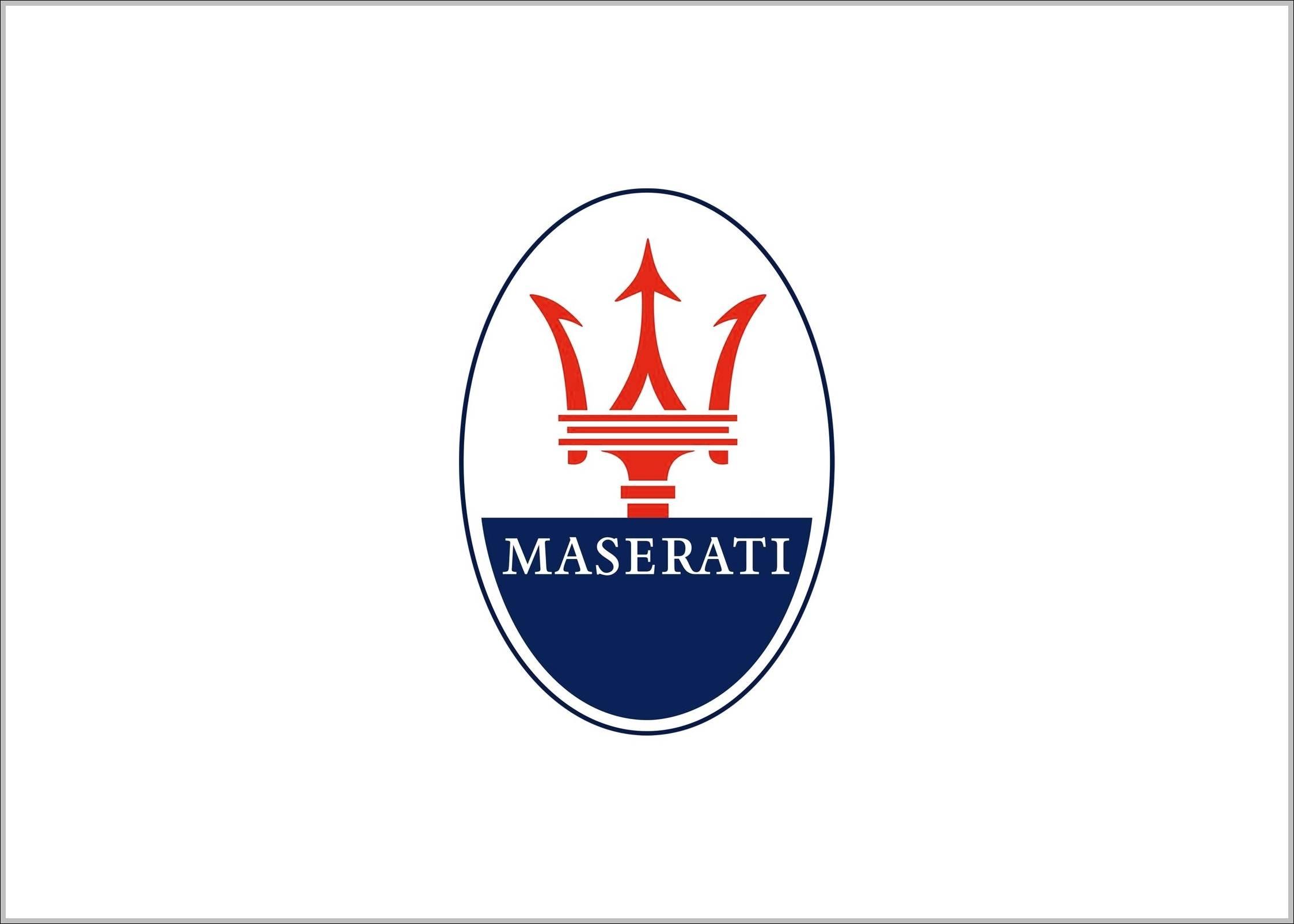 maserati logo oval logo sign logos signs symbols trademarks