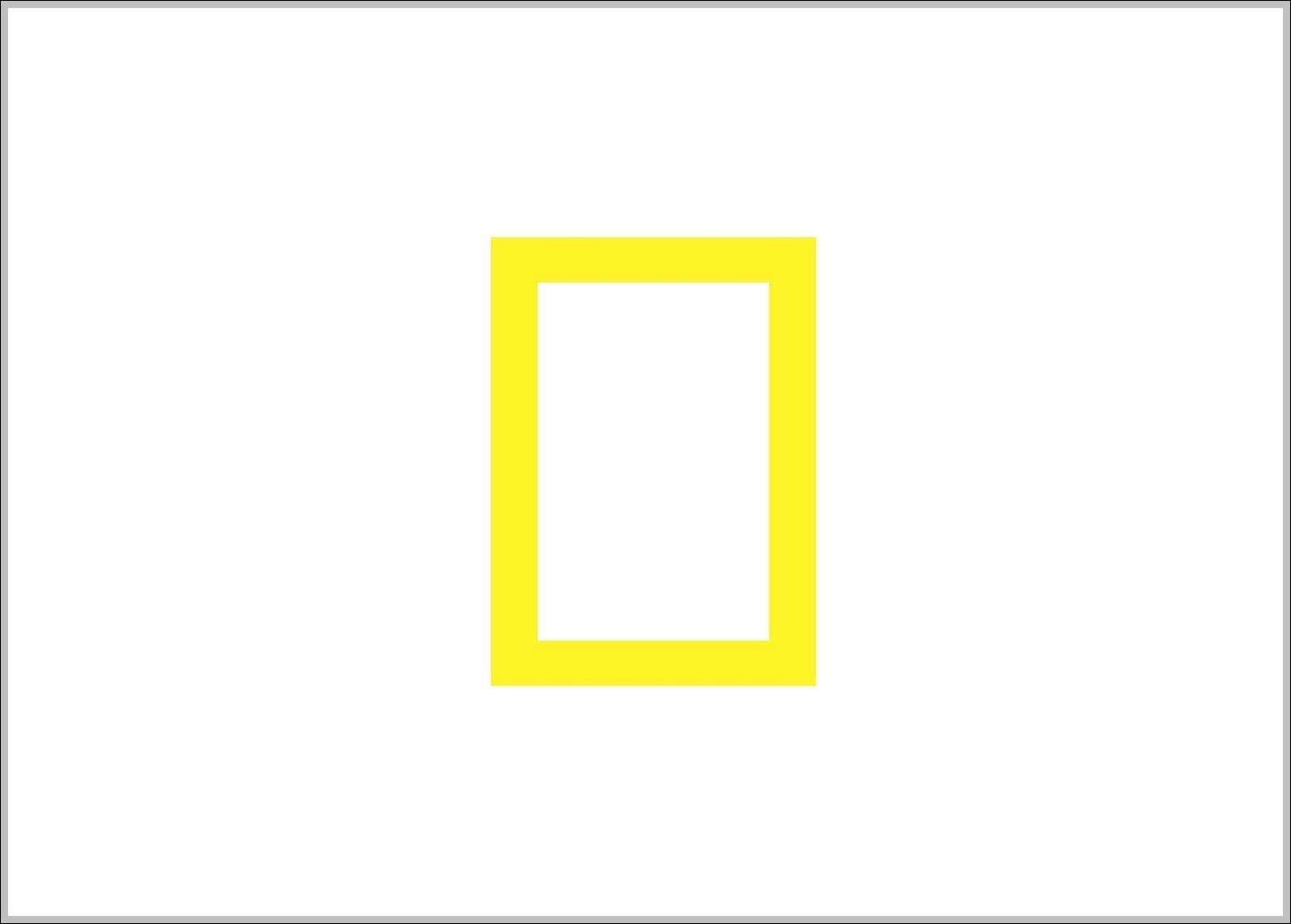 National Geographic Logo Yellow Frame Logo Sign Logos Signs