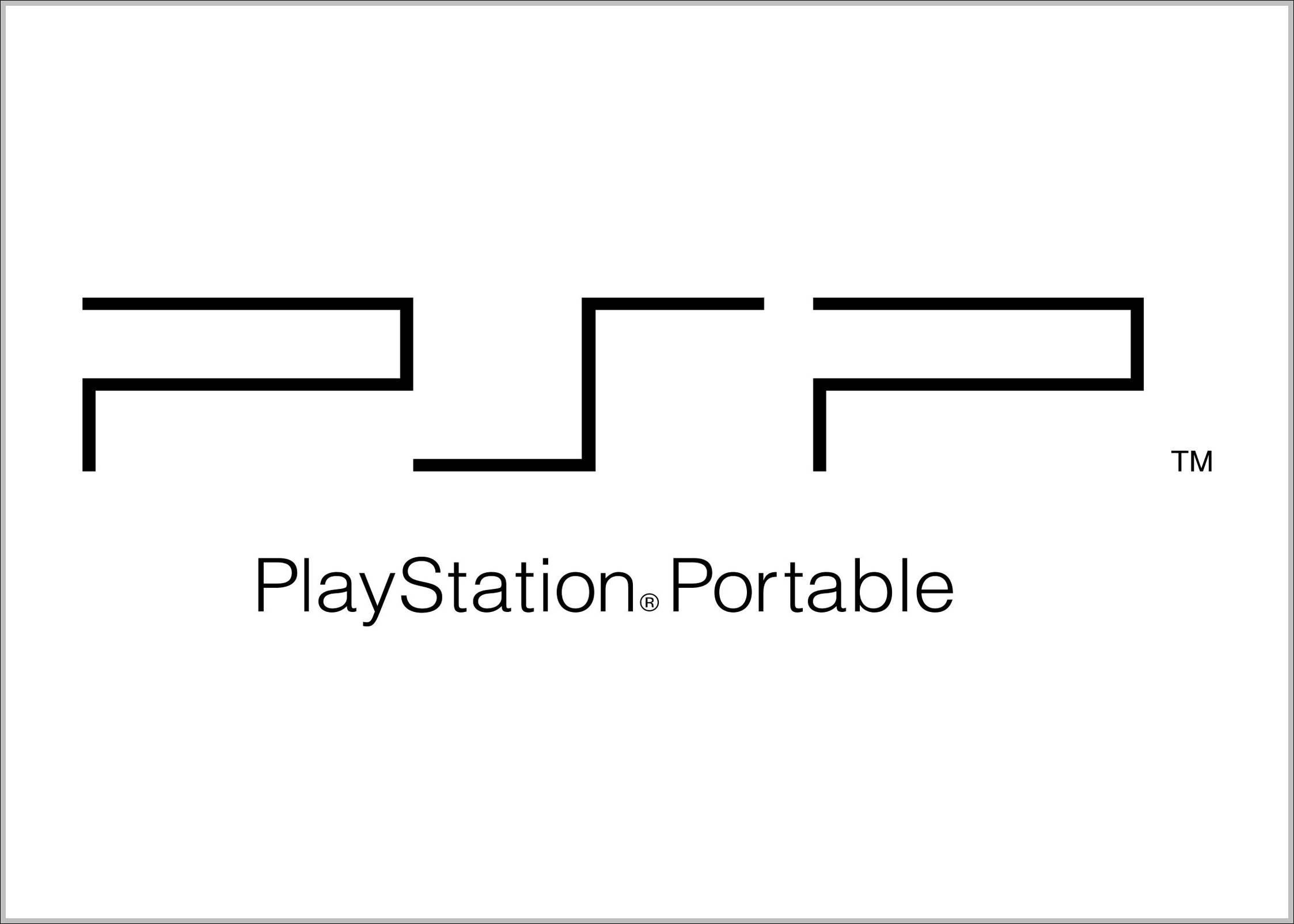 PSP logo PlayStation Portable logo