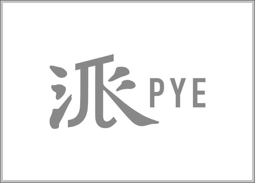 PYE sign