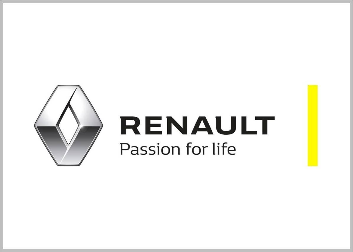Renault logo 2015 slogan