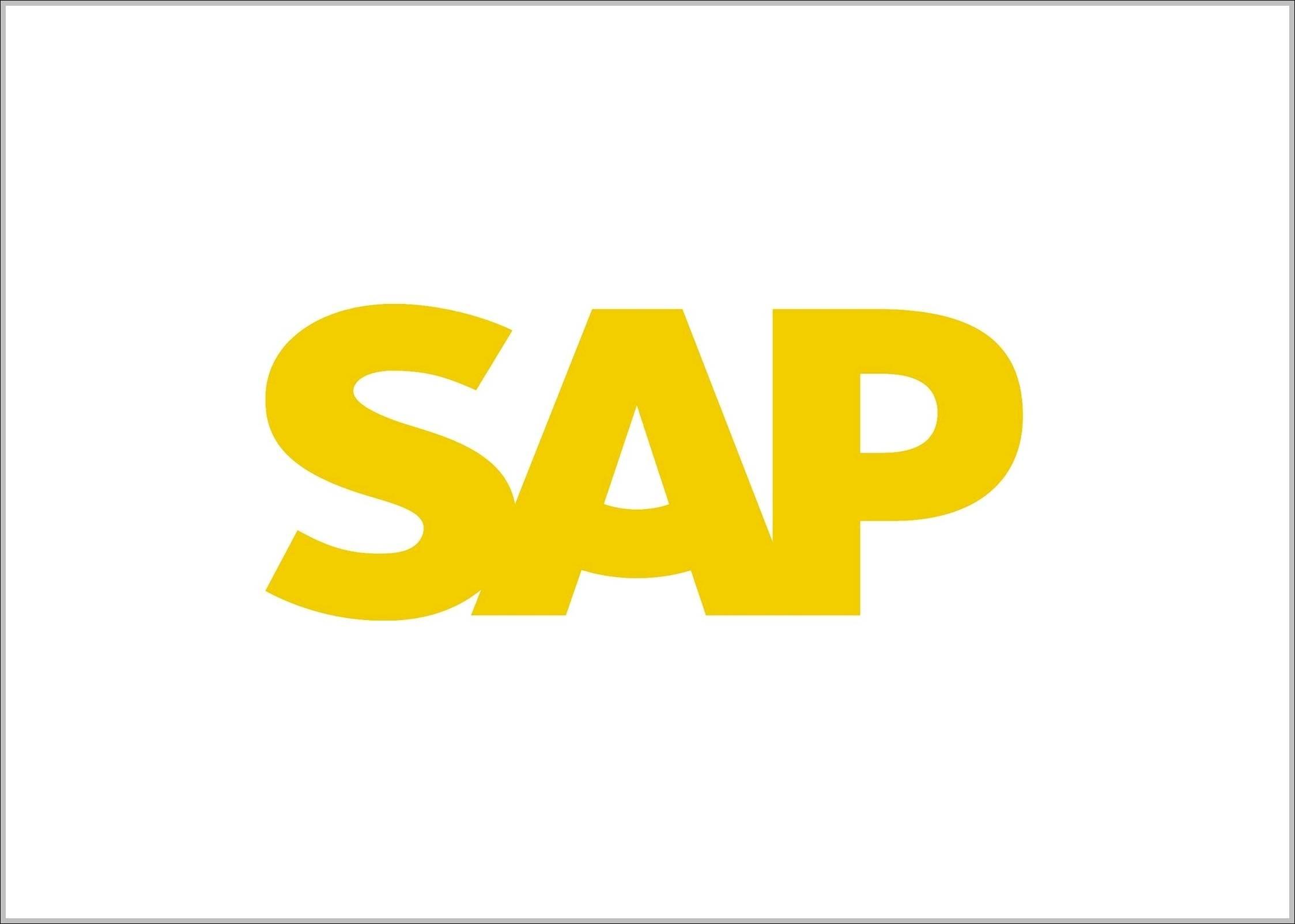 SAP logo 2014
