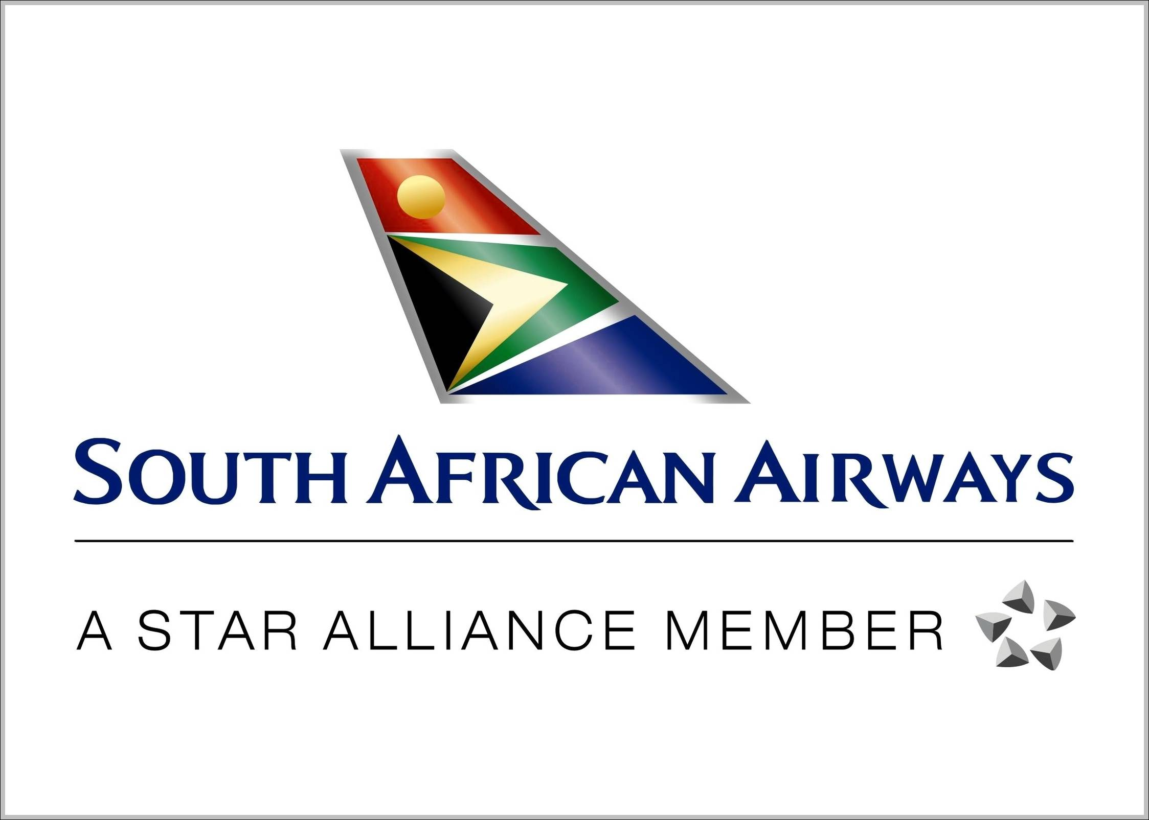 South African Airways sign