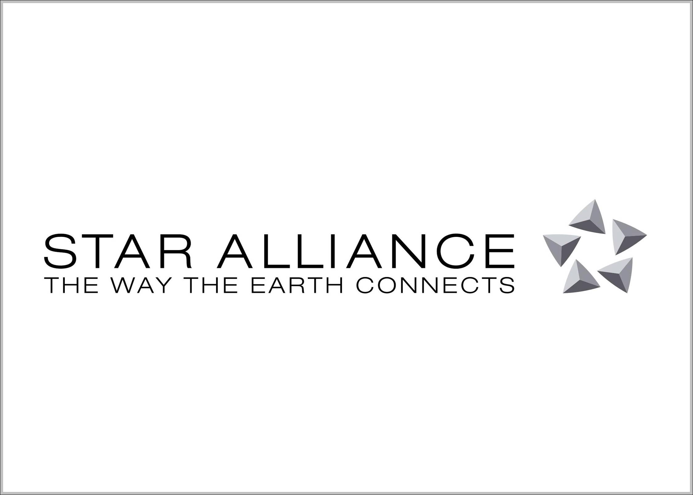 Star Alliance logo and sign