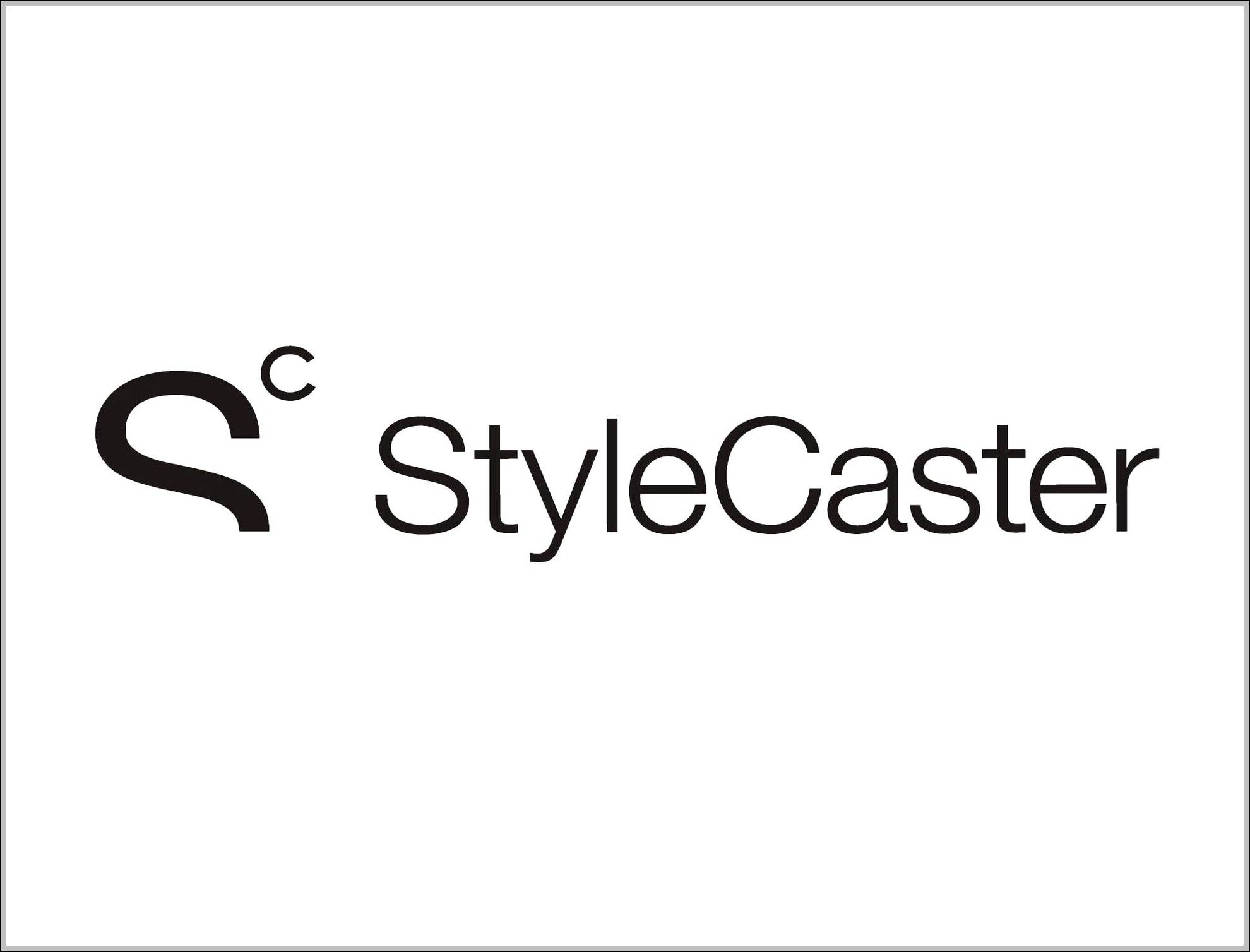 StyleCaster sign