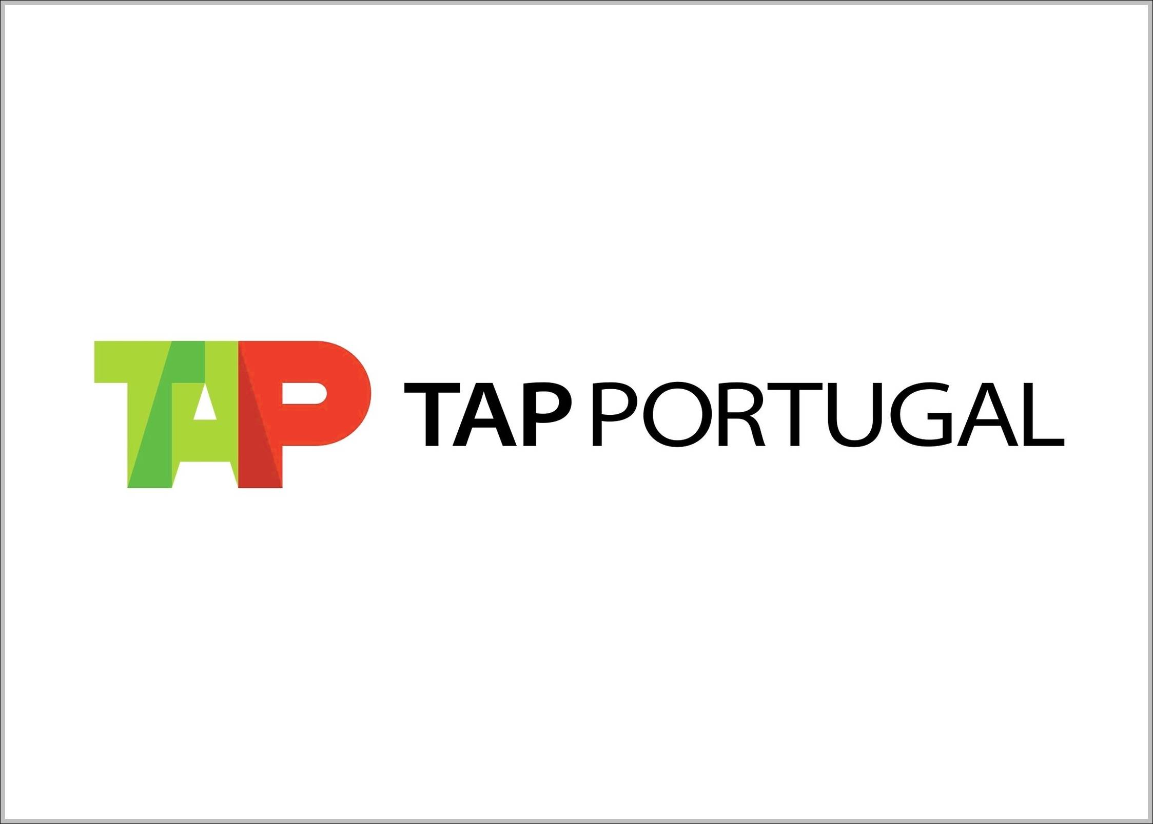 TAP Portugal logo and sign