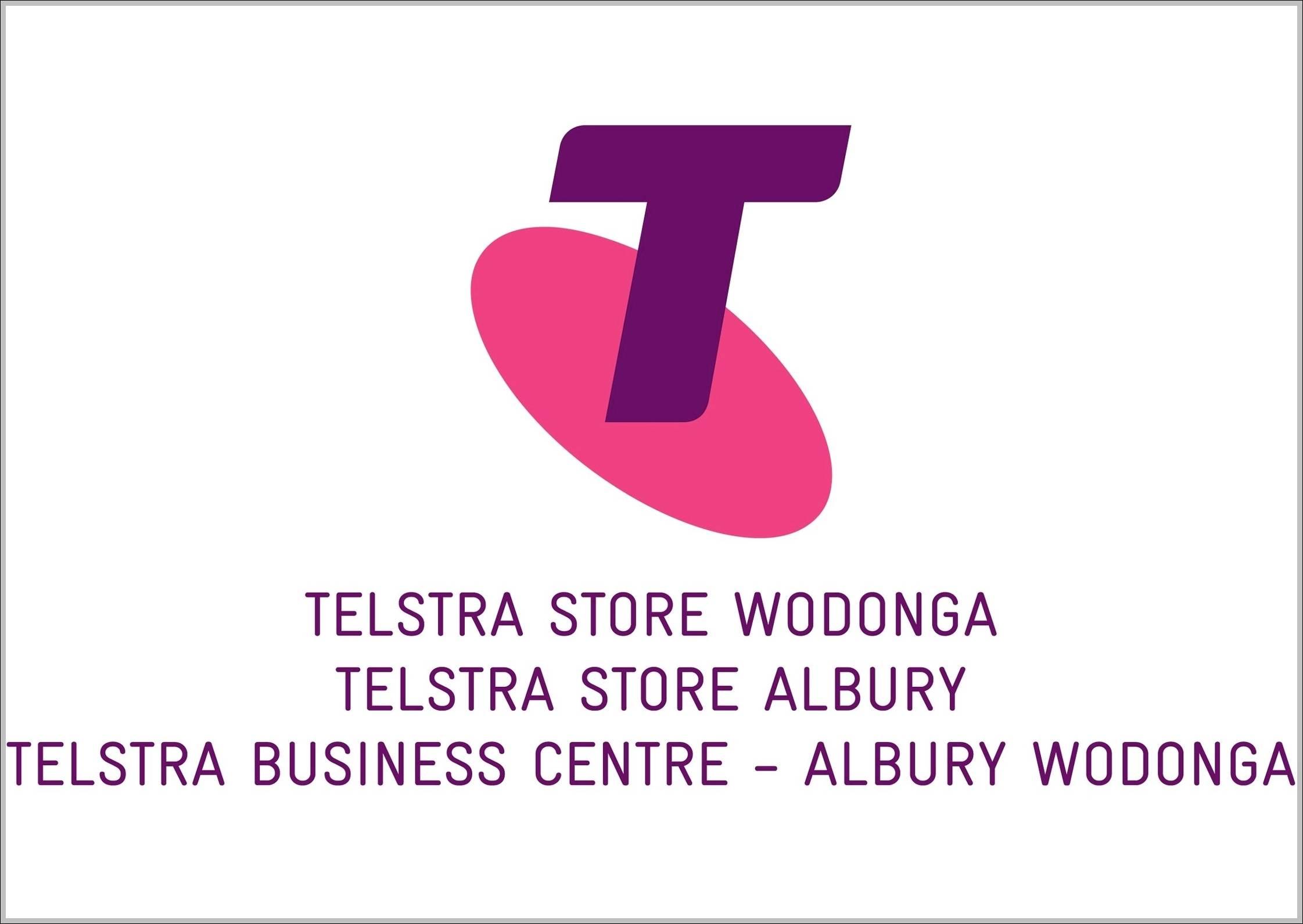 Telstra logo 2011 Pink