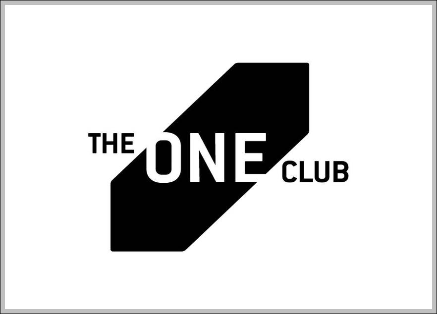 The One Club sign