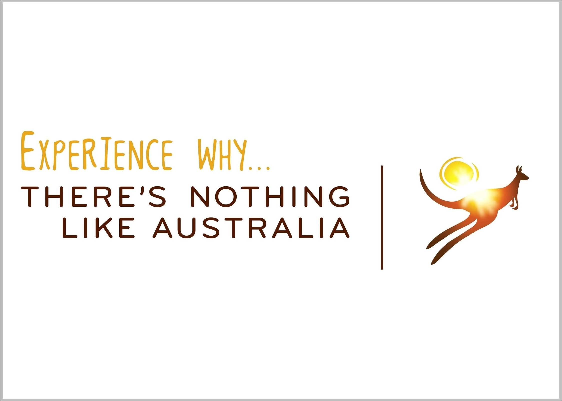 Tourism Australia logo old slogan