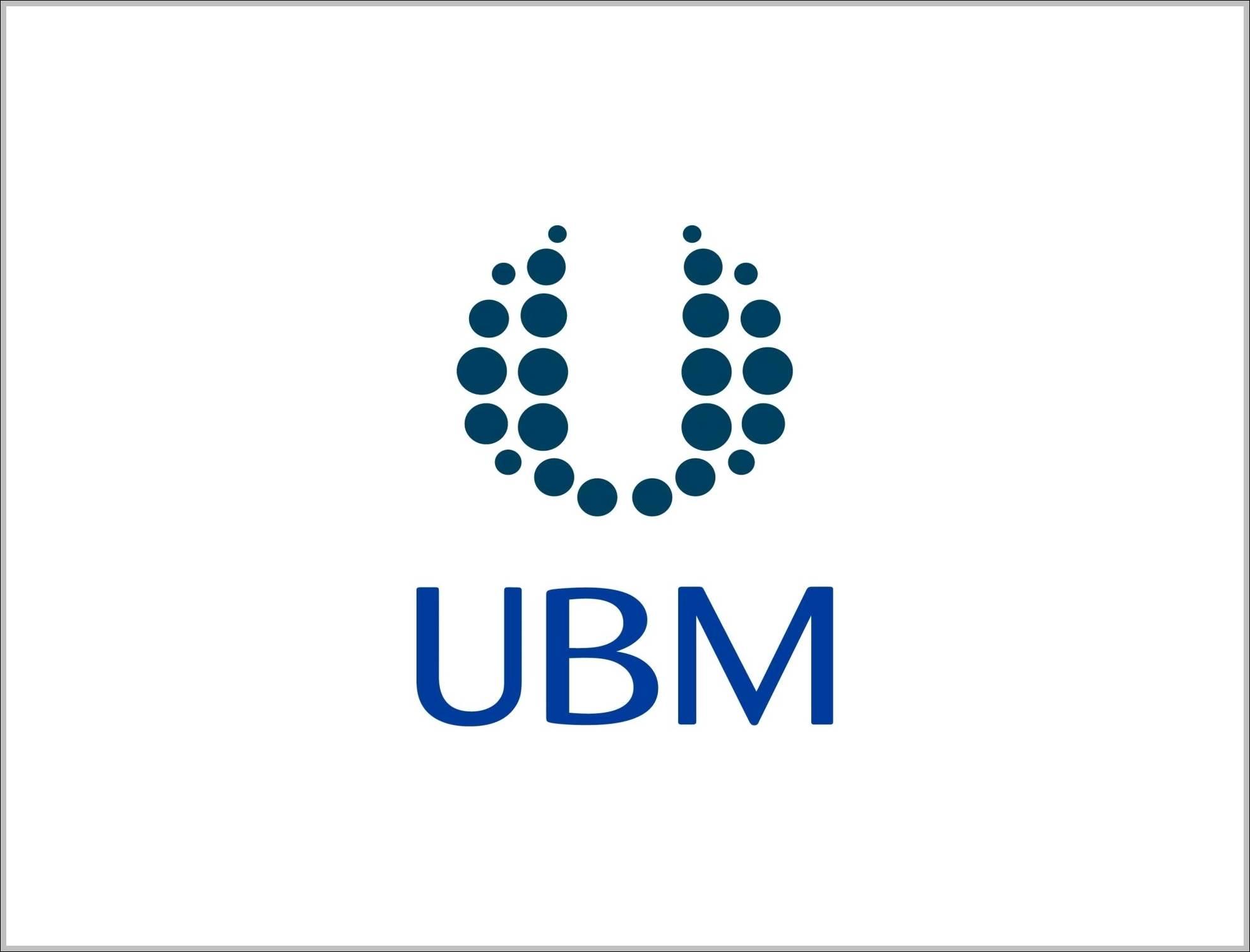 UBM sign