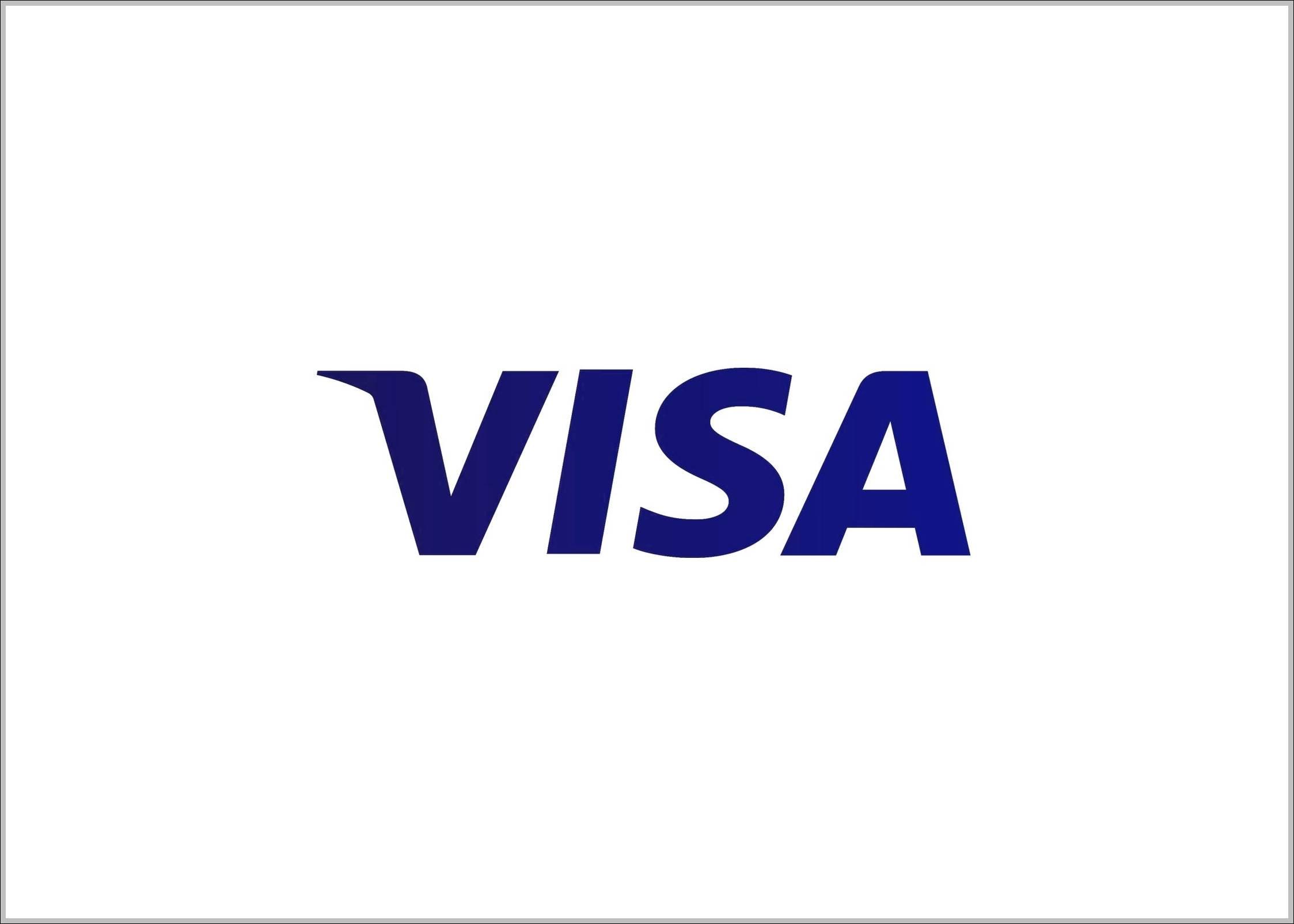 Visa 2014 logo blue