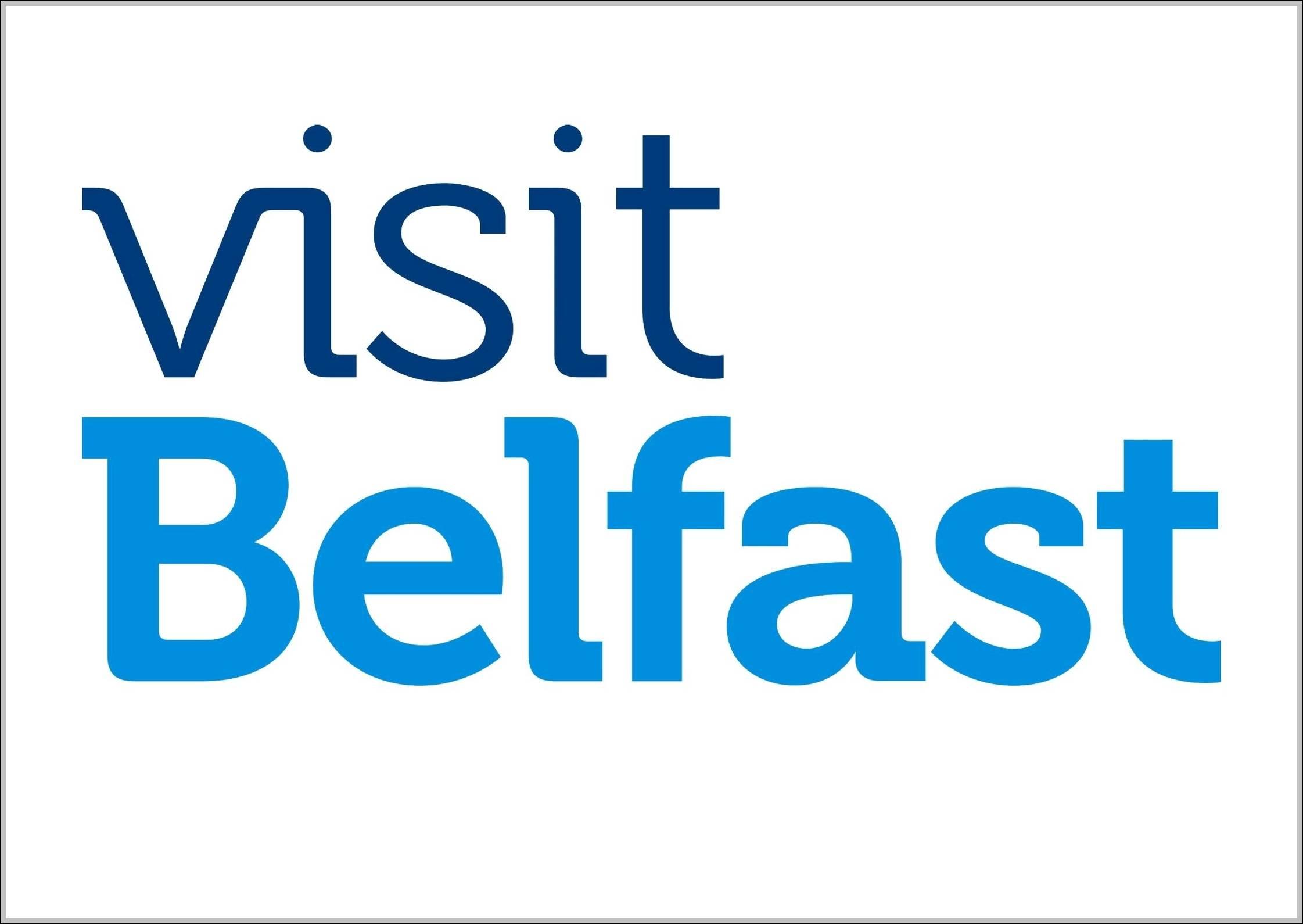 Visit Belfast sign