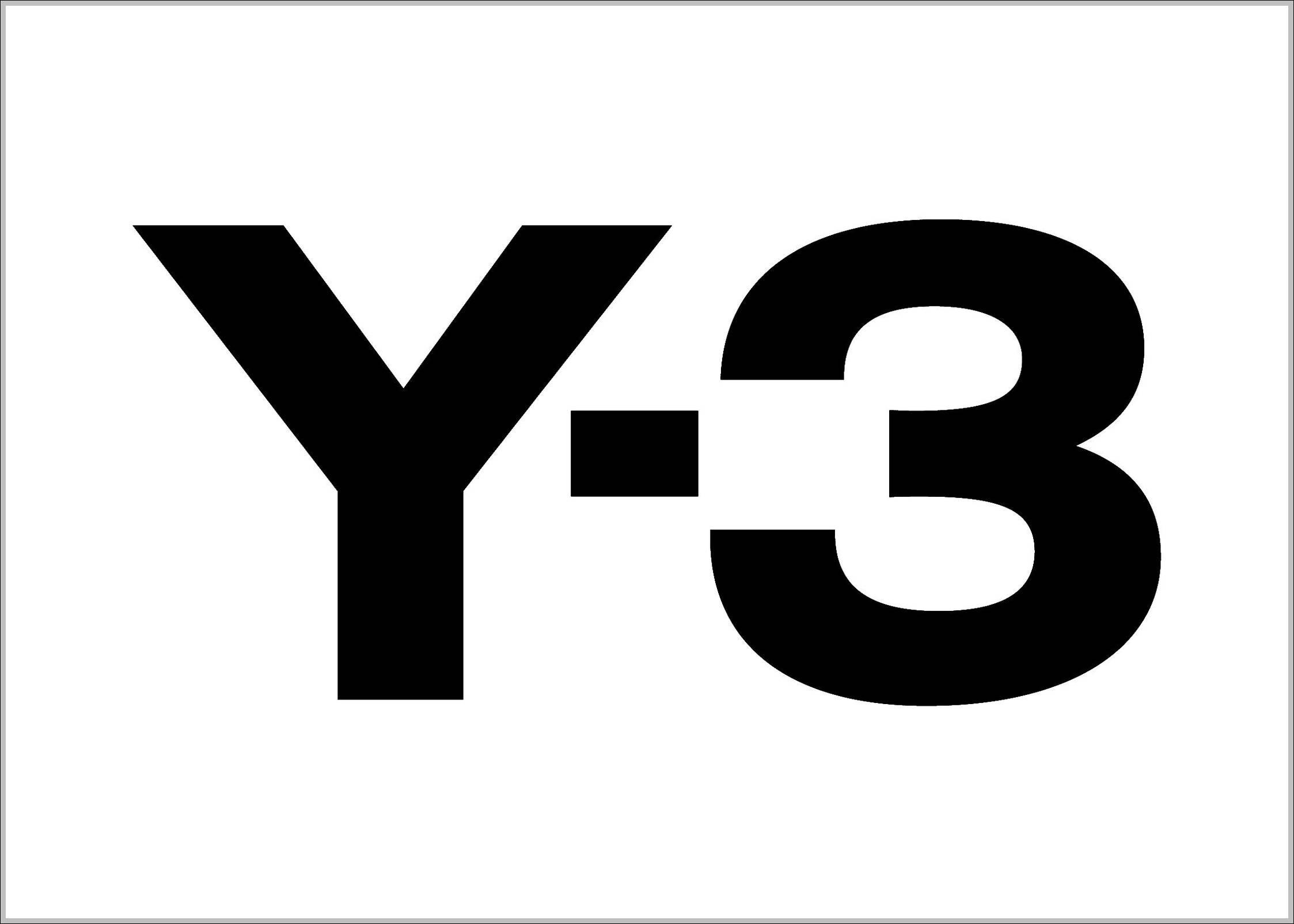 Y3 logo